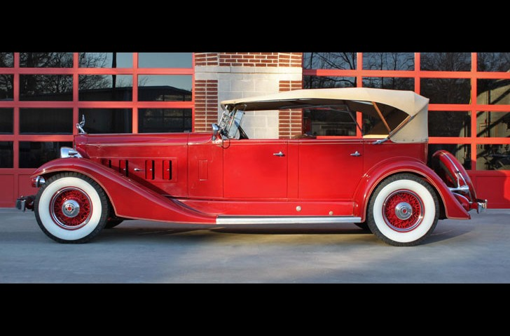 The Fire Chief's 1933 Packard Super 8 Sport Phaeton